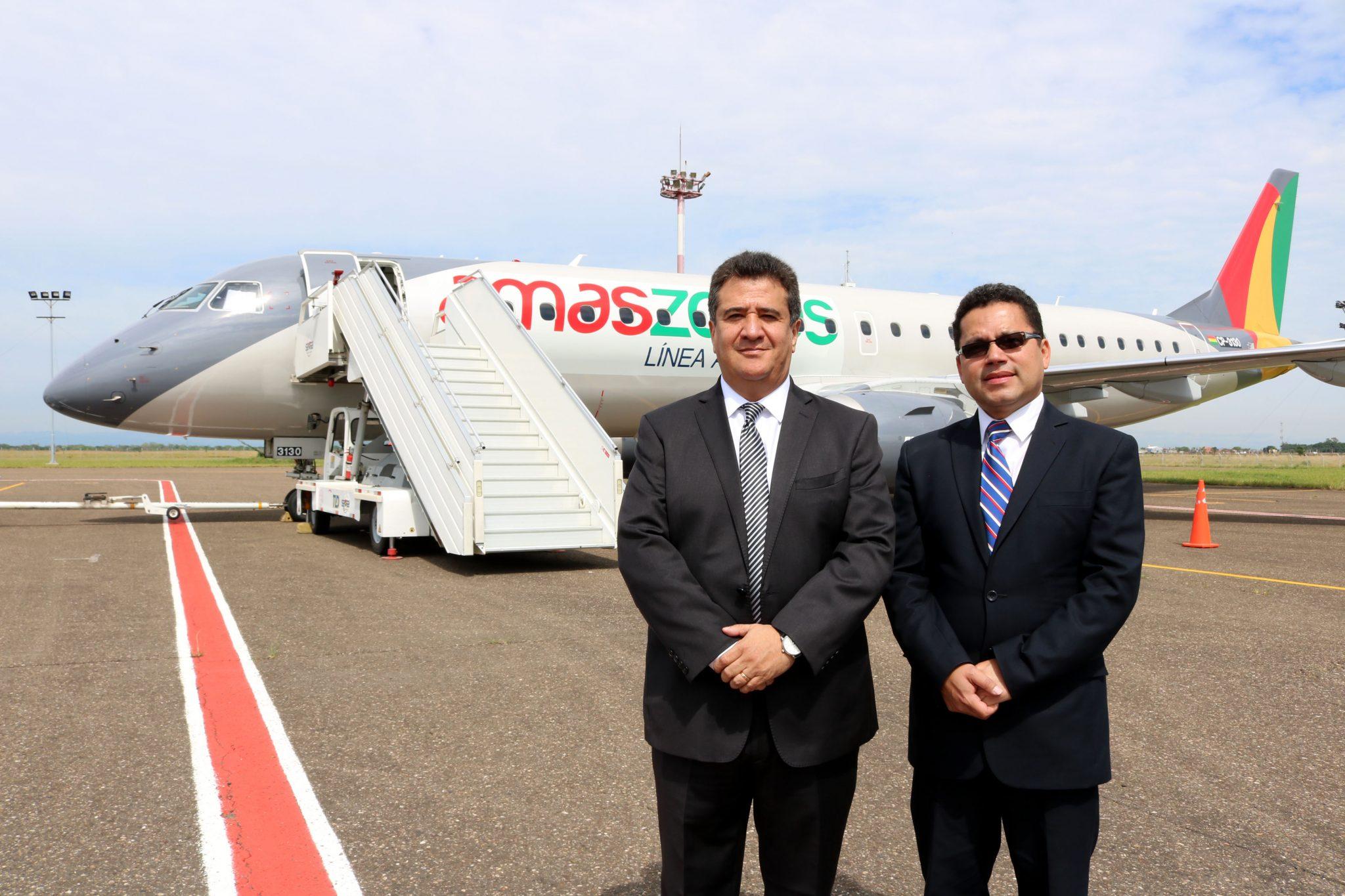 Amaszonas renueva su flota de aviones y presenta su EMBRAER (+ fotos) | La  Época- Con sentido de momento histórico